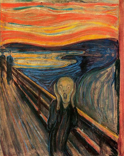 The Scream by Edvard Munch, 1895
