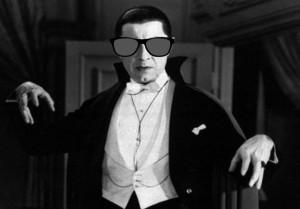 At work, I felt like Dracula, trying to avoid the sun. I had wear my shades.
