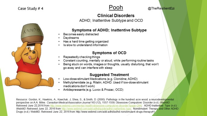 Pooh Mental Health