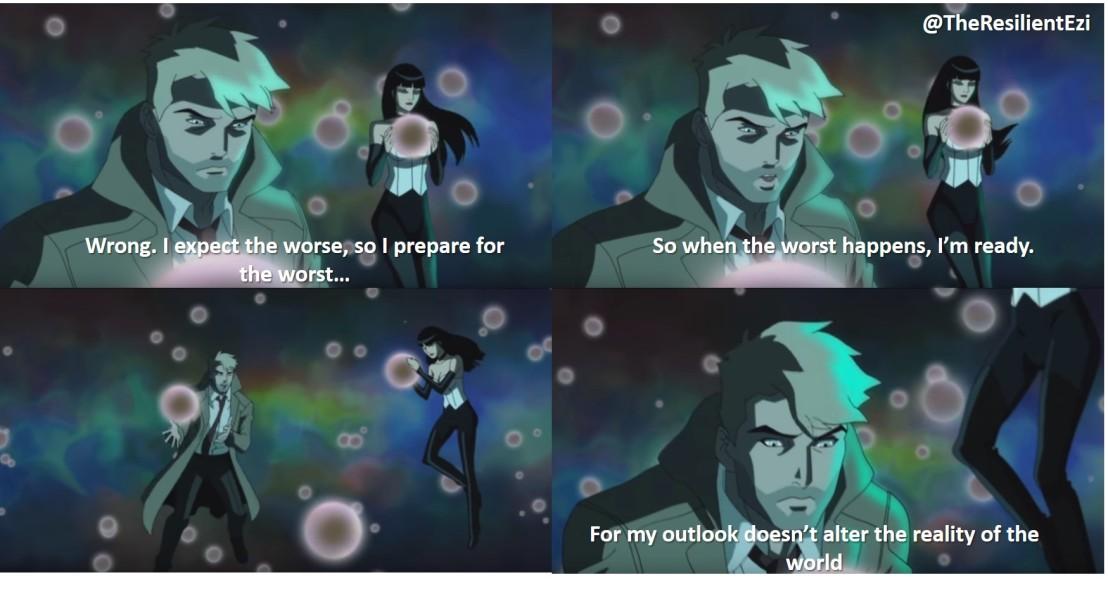 John Constantine_Justice League Dark