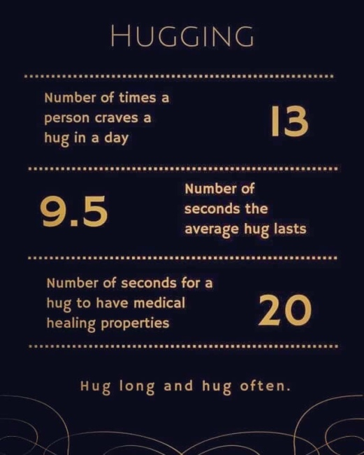 Image result for health benefits of hugs